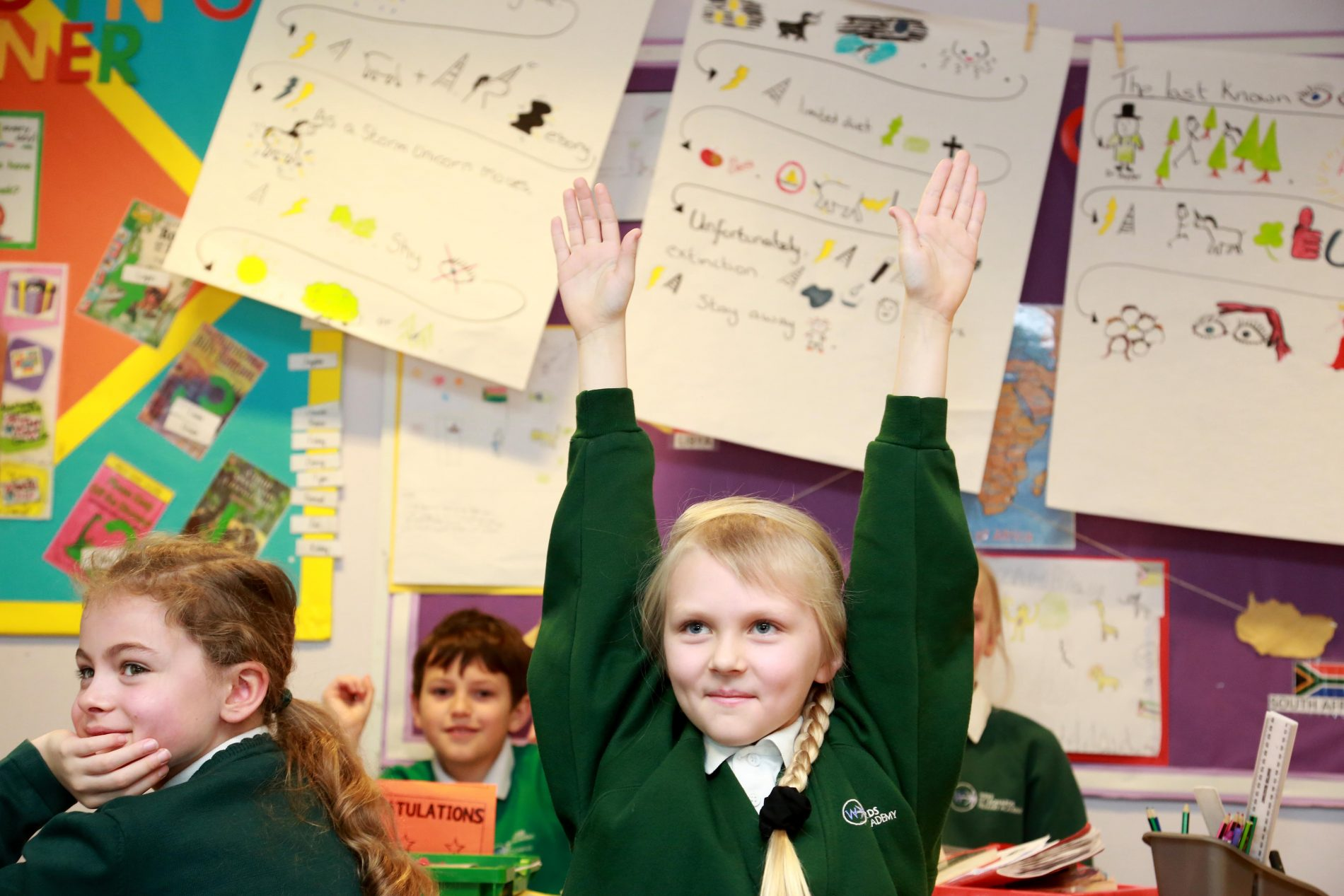 Enthusiastic pupil West St Leonards Primary Academy