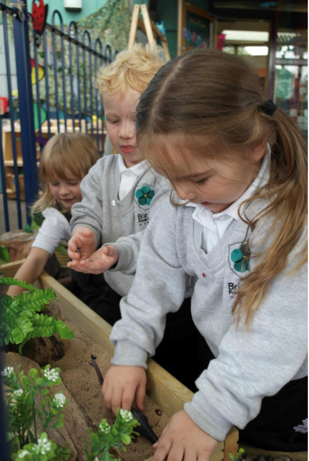 Actions in classroom Maidwell Primary School